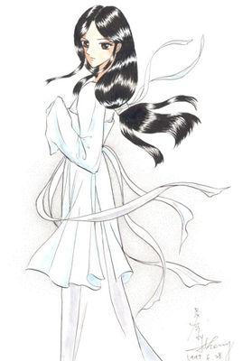 小龙女手绘可爱